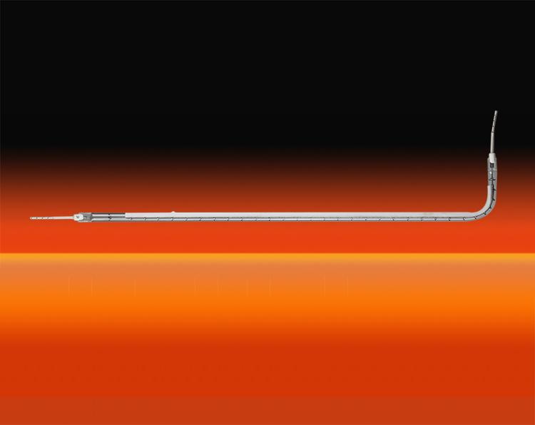 快中波单管镀白L型红外辐射器