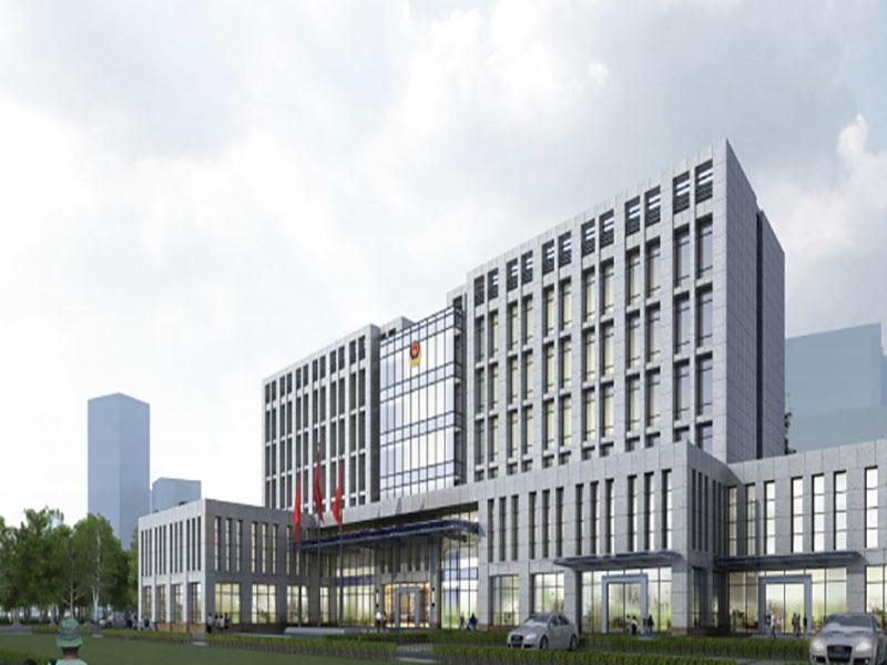 延安新区科研实体模型试验楼F区建设
