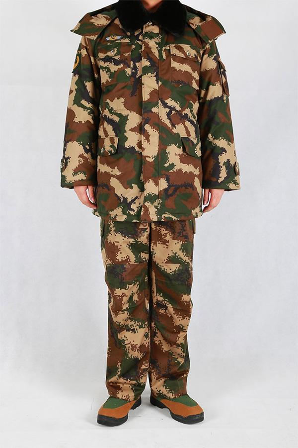Armed police winter training coat