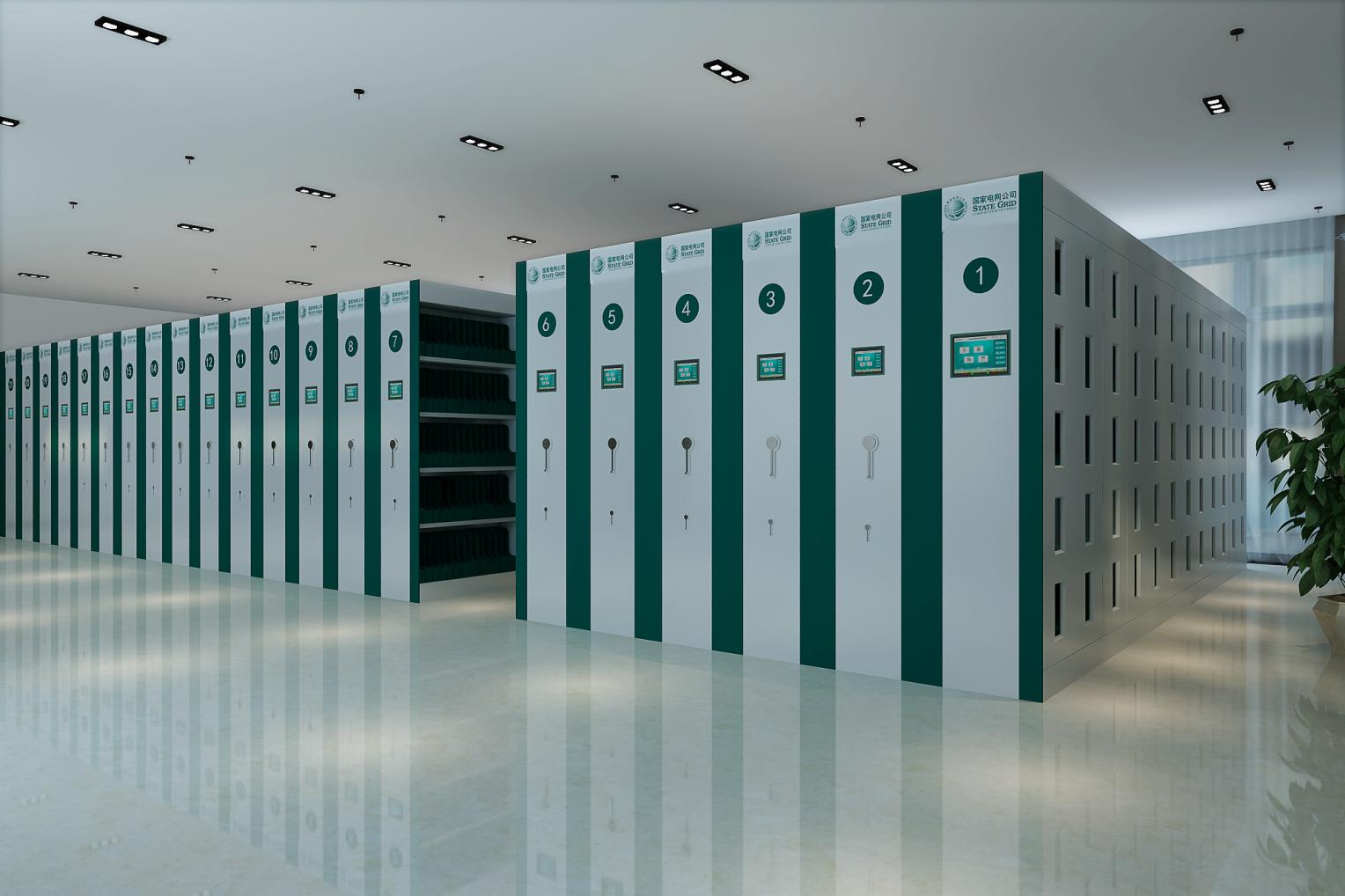 RFID智能档案密集架