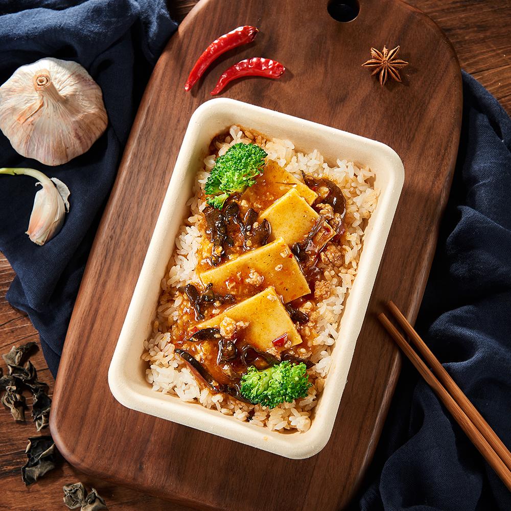 麻婆千叶豆腐拌饭