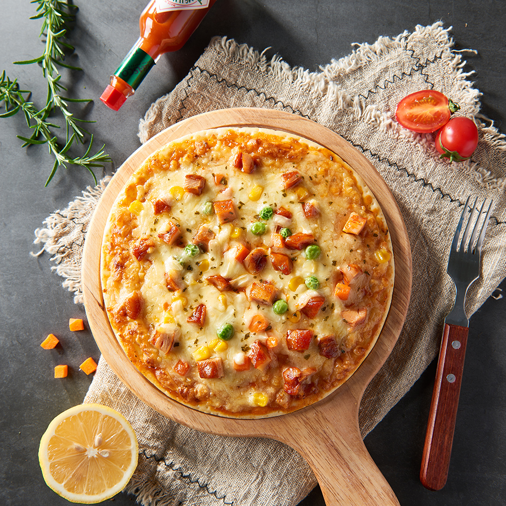 奧爾良雞肉披薩
