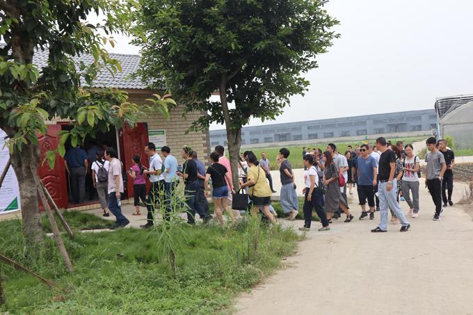 8月30日农业农村部领导带领四川各局参观
