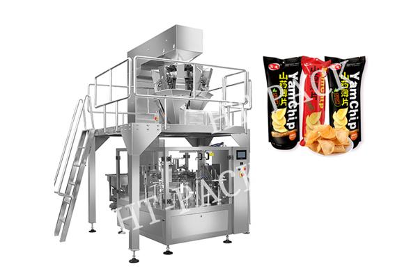 山药脆片包装机 膨化食品预制袋包装机 袋装包装机