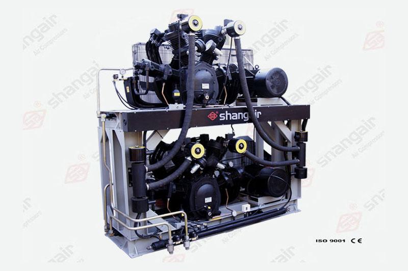 83SW系列無油空壓機(雙層)