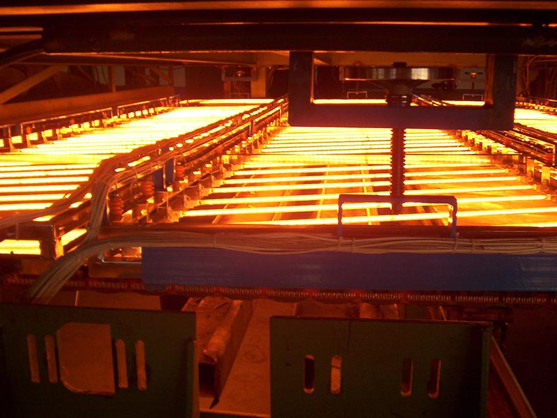 金属板材热处理中应用的红外加热技术