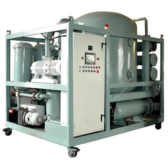 變壓器油雙級真空濾油機