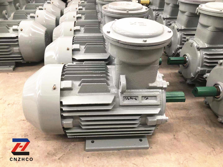 YB3系列隔爆型三相異步電動機發往新疆