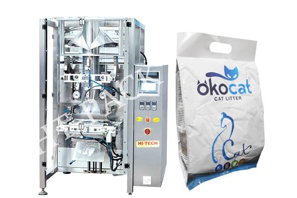 5KG猫粮猫砂包装机 全自动小颗粒包装机