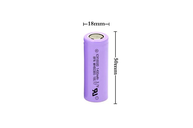 BFN 无记忆锂离子电池 18650 1400mAh 3.7V