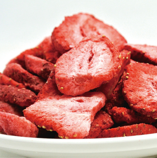 凍干草莓片