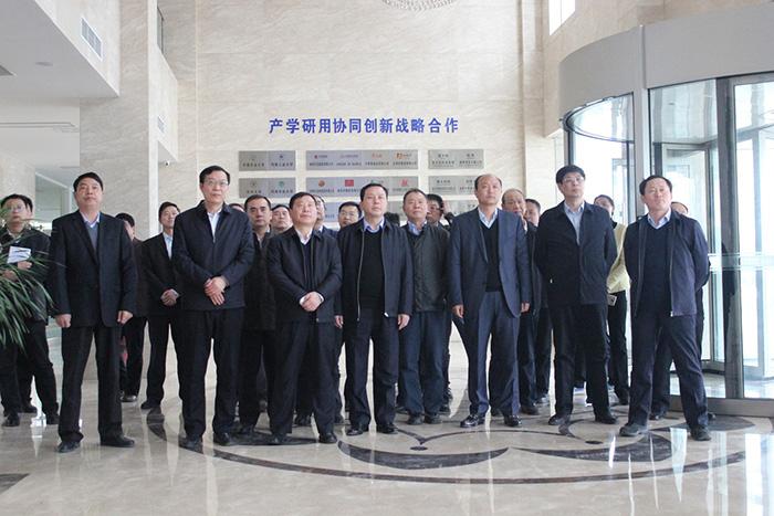 河南省重點項目暨產業轉型攻堅觀摩組深入河南茂盛集團觀摩