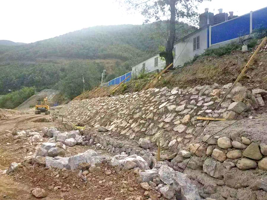 汉江流域南河干流近期防洪治理工程(保康段)第一标段