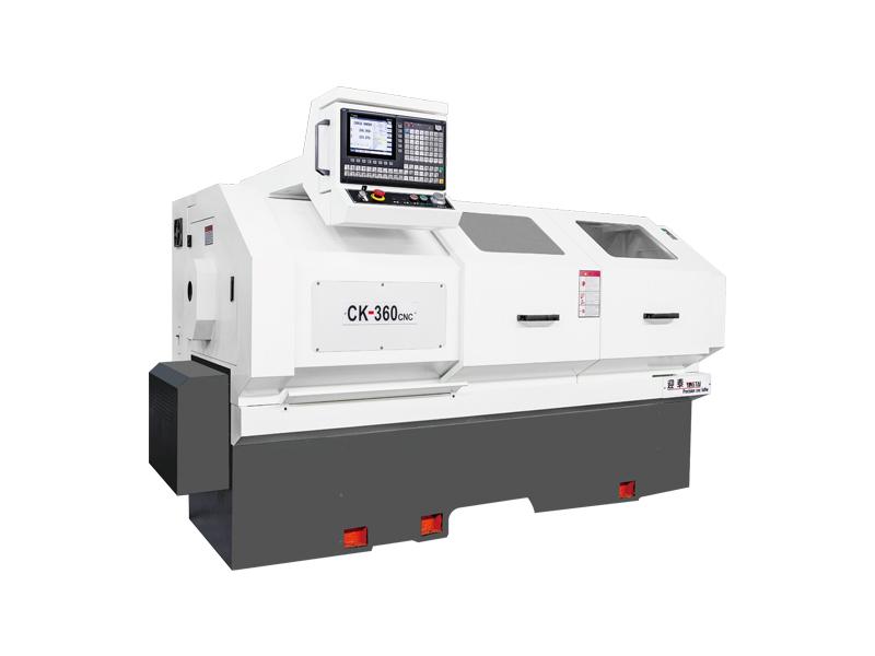 CK360中置絲桿數控車床(貼塑軌)