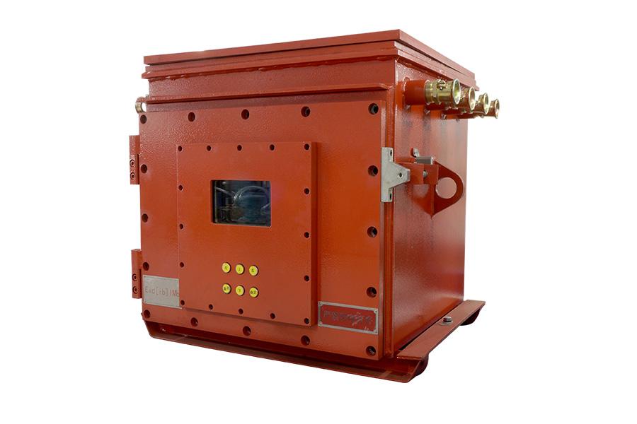 KJK660矿用隔爆兼本安型光纤测温控制柜2