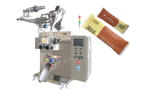 粉末包装机 条形背封咖啡粉包装机