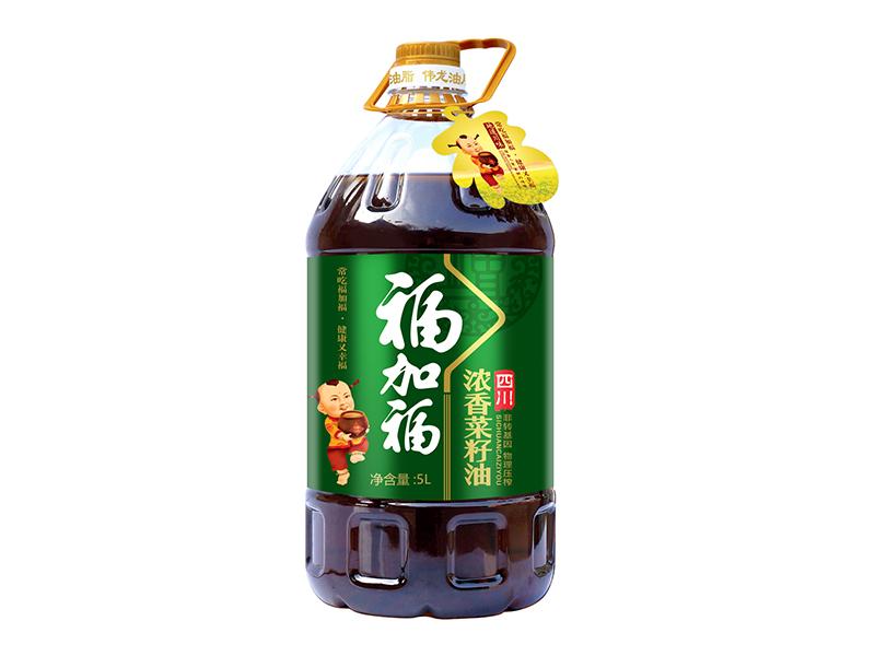 福加福5L浓香菜籽油