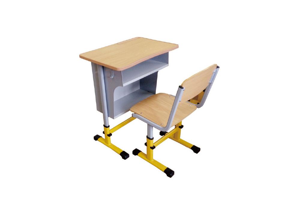 YDK-6型可升降单人课桌椅