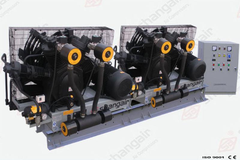 83系列空氣壓縮機(雙機)