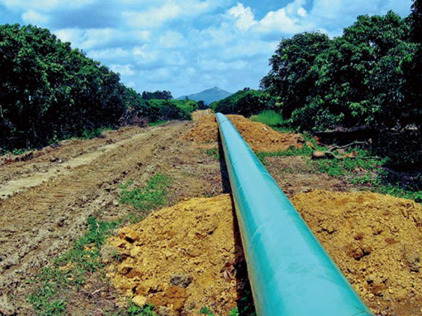 中石化珠三角成品油管道工程