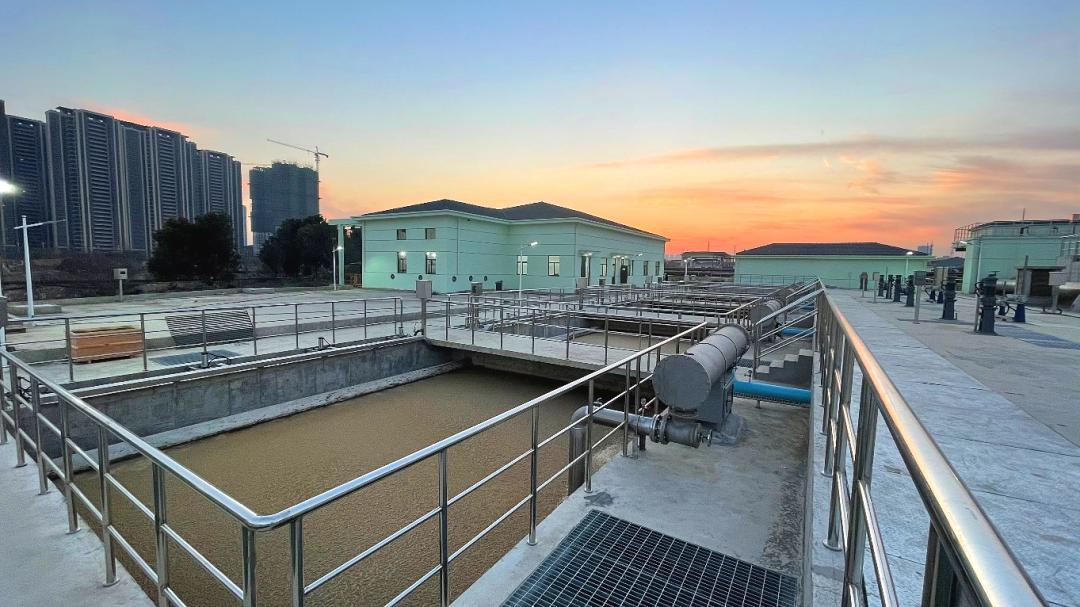 无锡城北污水处理厂250,000m3/d气浮提标