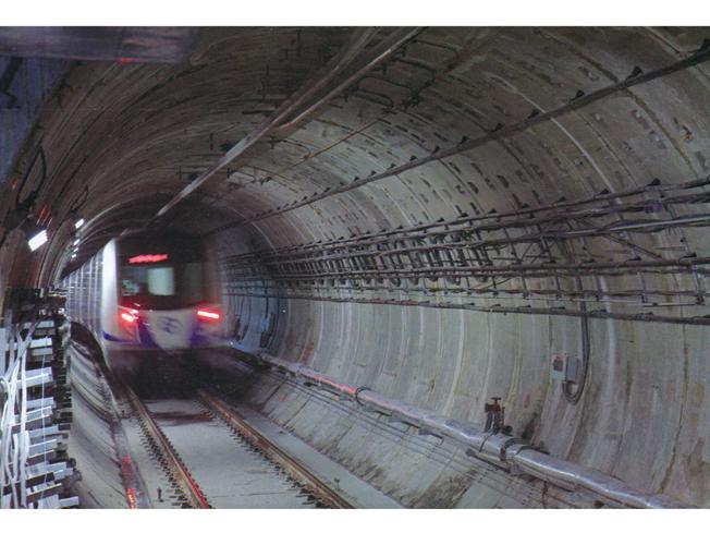 建成通车的大连地铁盾构区间