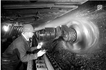 采煤设备的发展