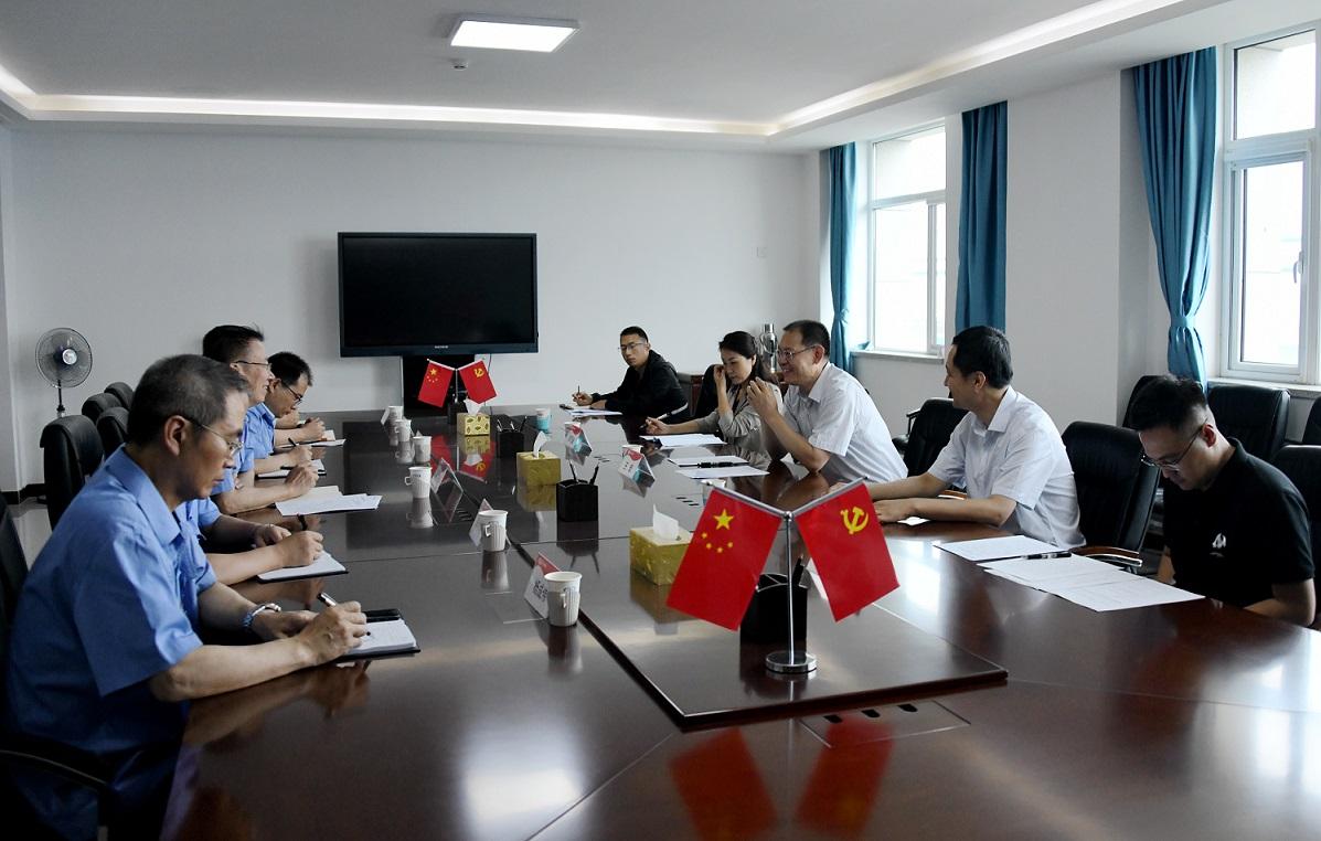 蘭州市委宣傳部長王宏一行來我公司調研
