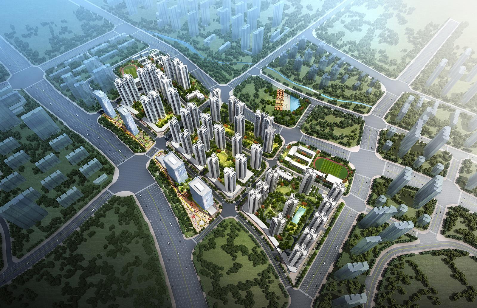 旺村南旧村改造项目