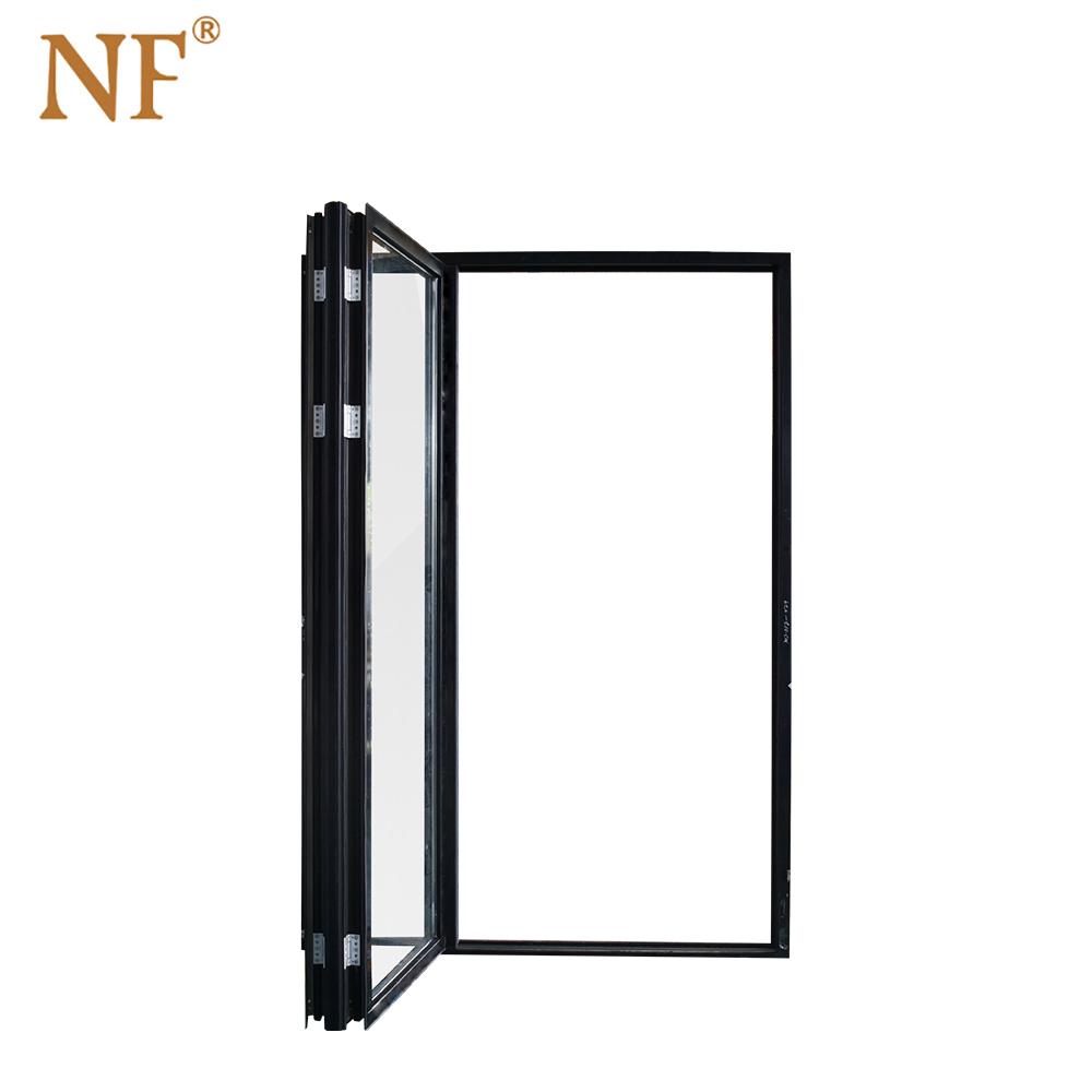 黑色折叠窗2+0