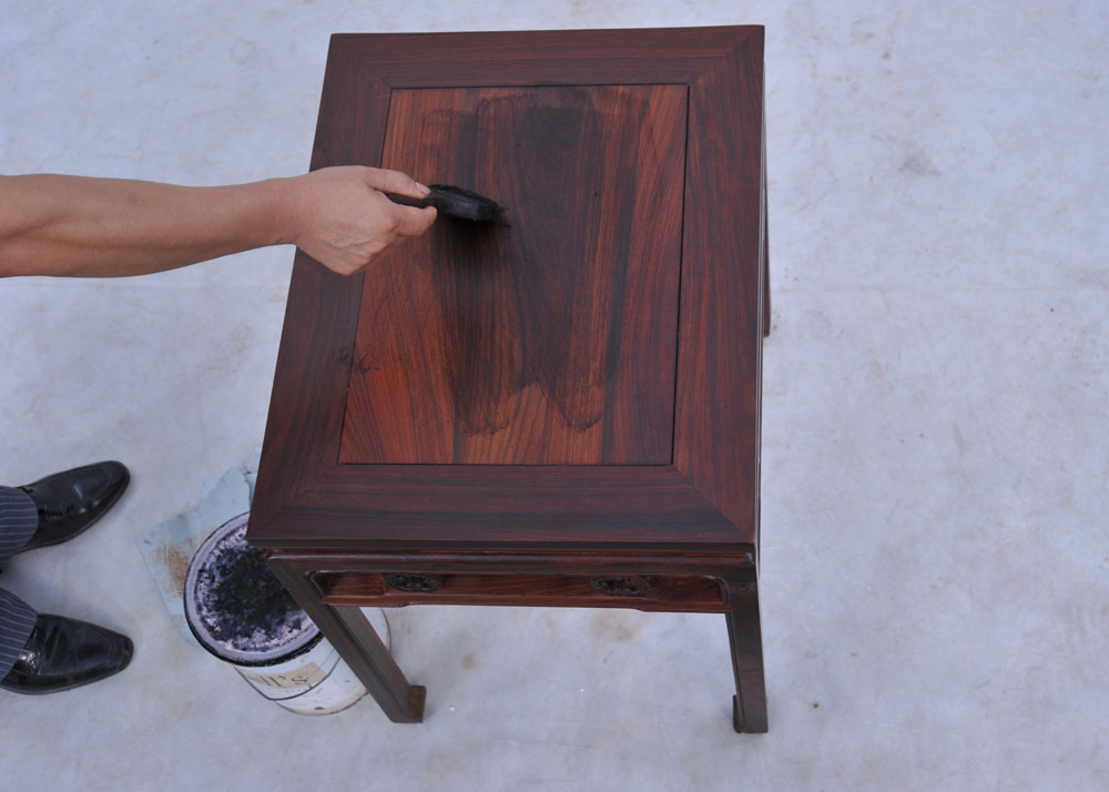 實木家具快速打蠟的小技巧