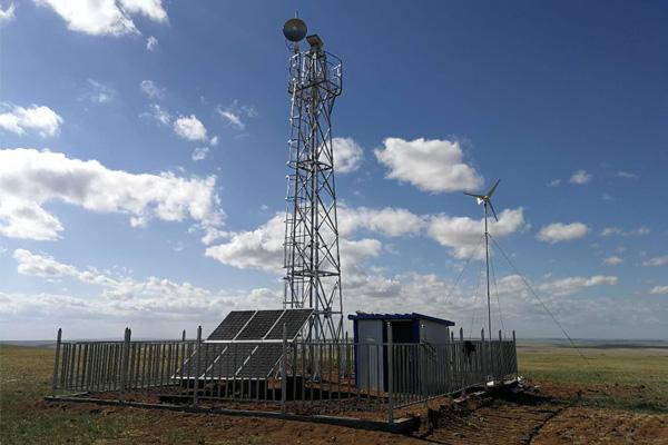 輸電線路太陽能監控解決方案