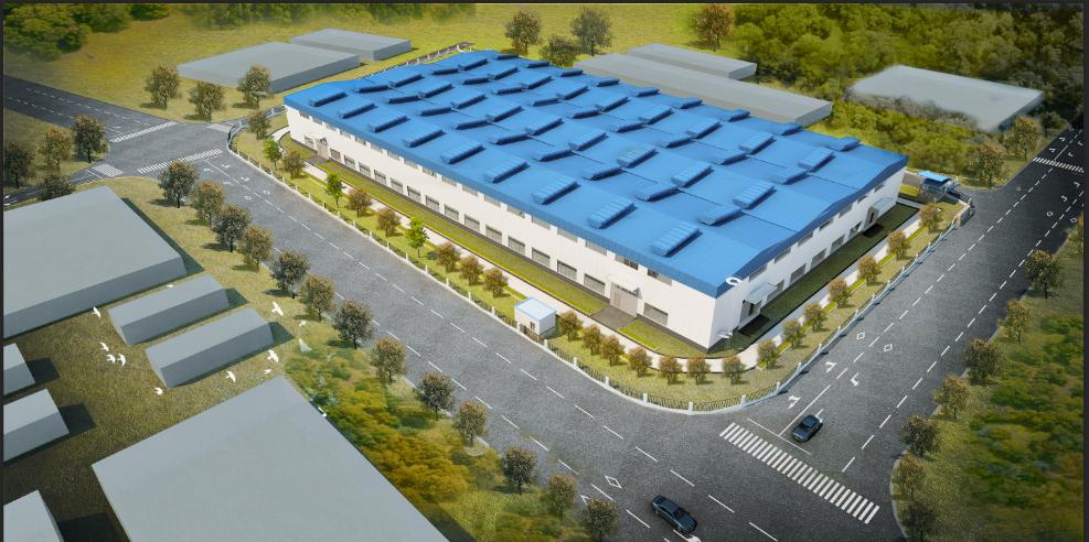 勉县周家山循环经济产业聚集区标准化厂房建设