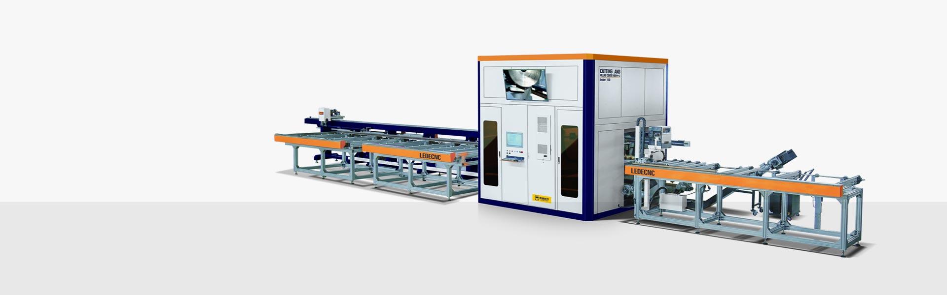 自动锯铣生产线 Amber 550