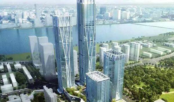 長沙濱江金融中心