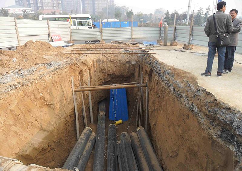 西安市鳳城八路熱力管網