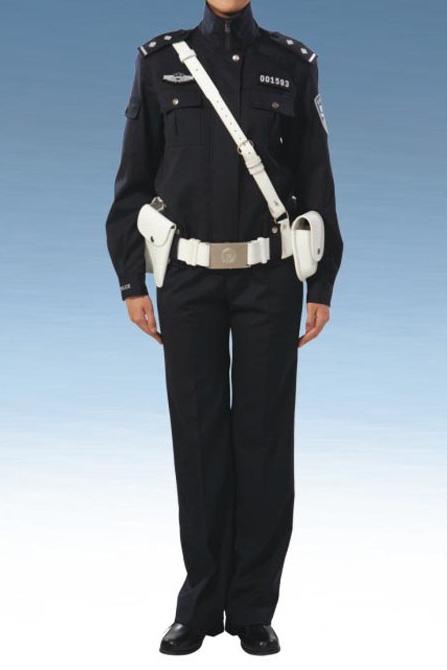 Traffic and patrol police service uniform (female)