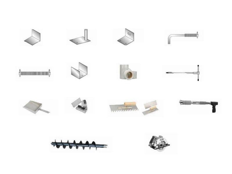 輔助材料、配件及工具