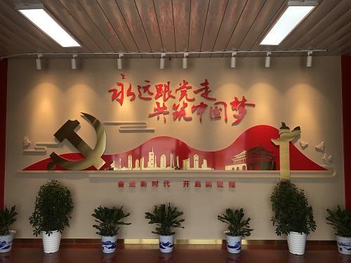 大世纪模型公司承接设计中国建筑第八工程局有限公司企业荣誉展厅