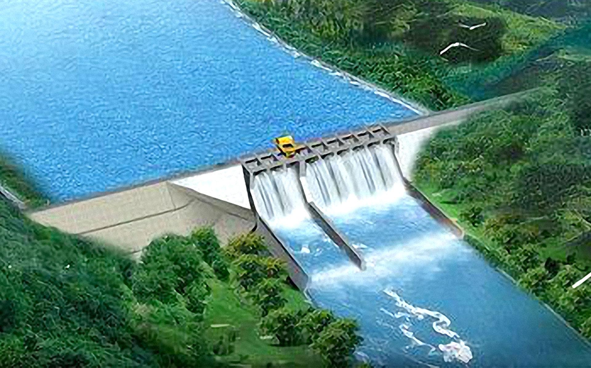 托口水电站
