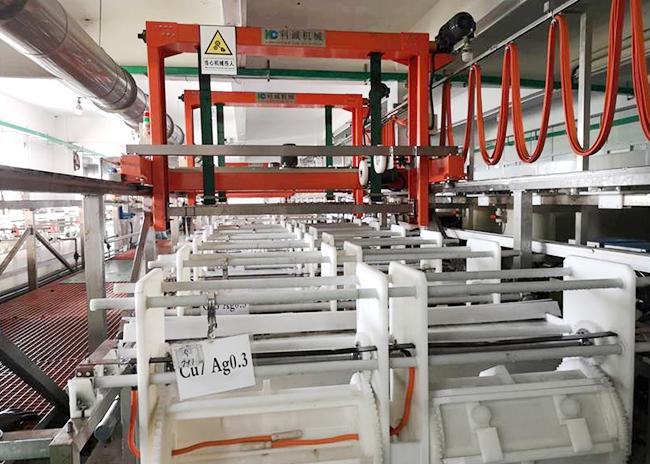 五金龍門式滾鍍銀生產線
