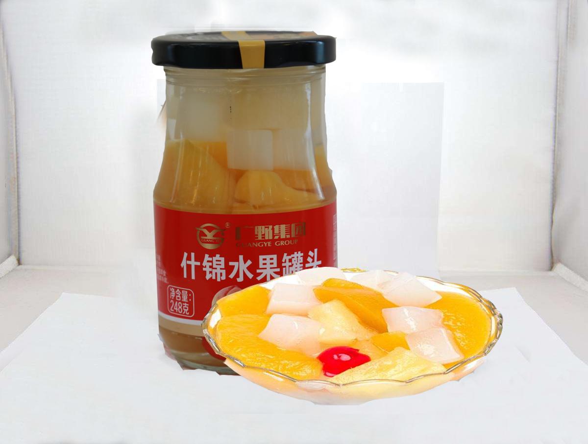 什锦水果罐头