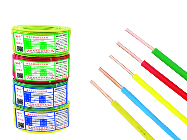 布线用聚氯乙烯绝缘电缆电线