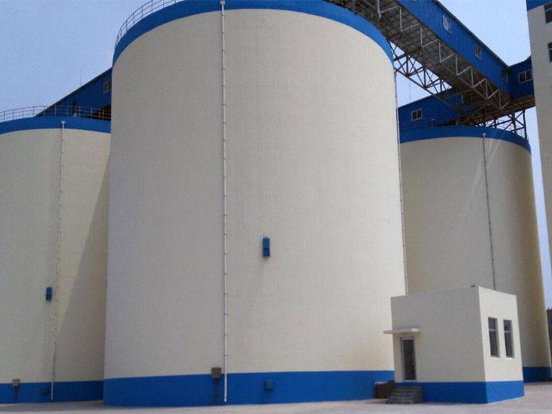 山东省粮食物流中心新建项目(鲁中储备库)3万吨浅圆仓项目