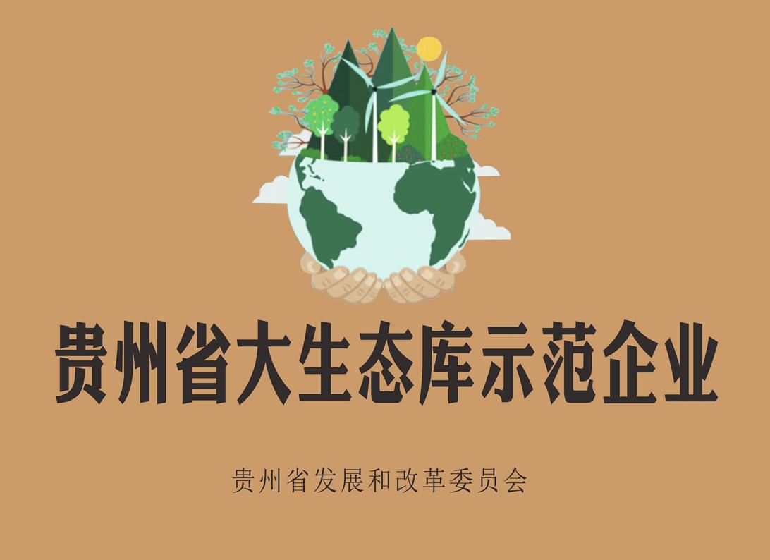 贵州省大生态库示范企业