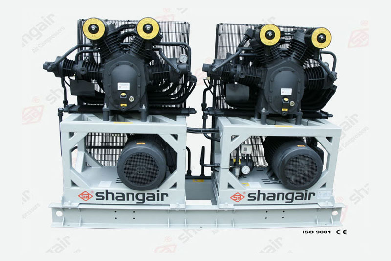 34SH系列空氣壓縮機(立式雙機)