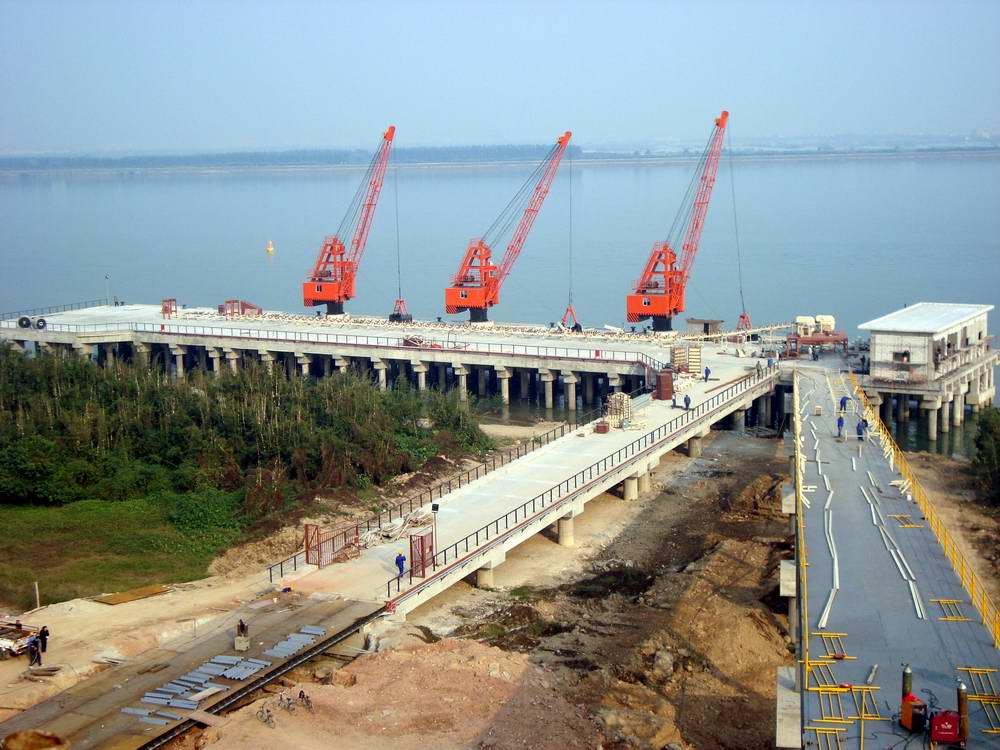 信義環保特種玻璃有限公司碼頭及引橋工程