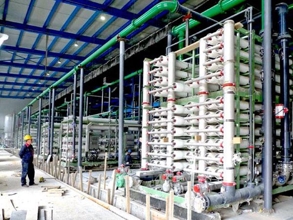 中石化长城能化(宁夏)高盐水零排放工程