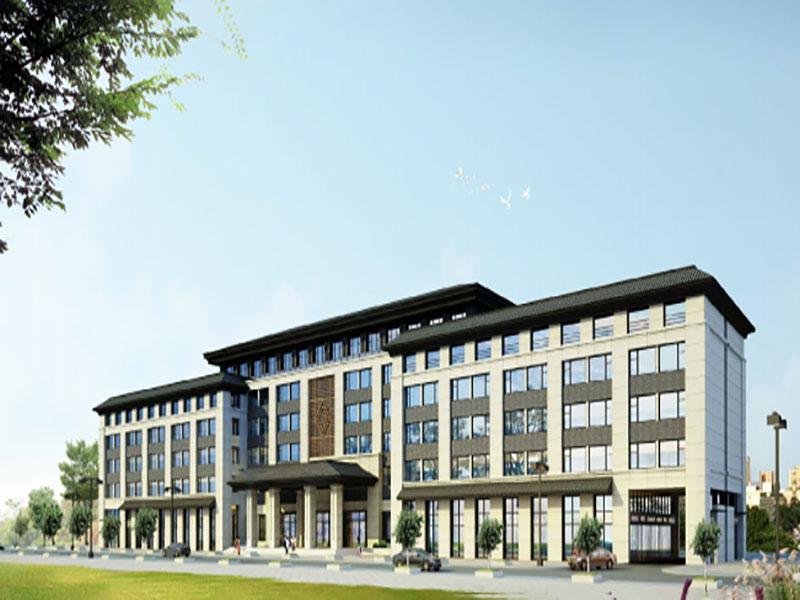 祁连吉源酒店方案和施工图设计