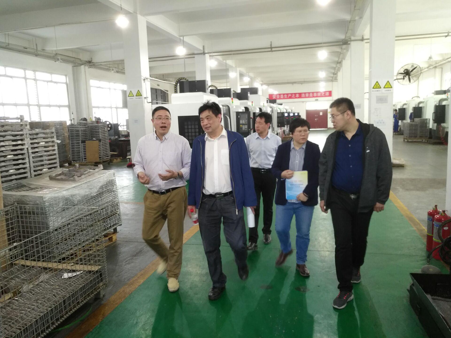 中國科學院金屬研究所陳蓉石博士等一行人來我公司考察